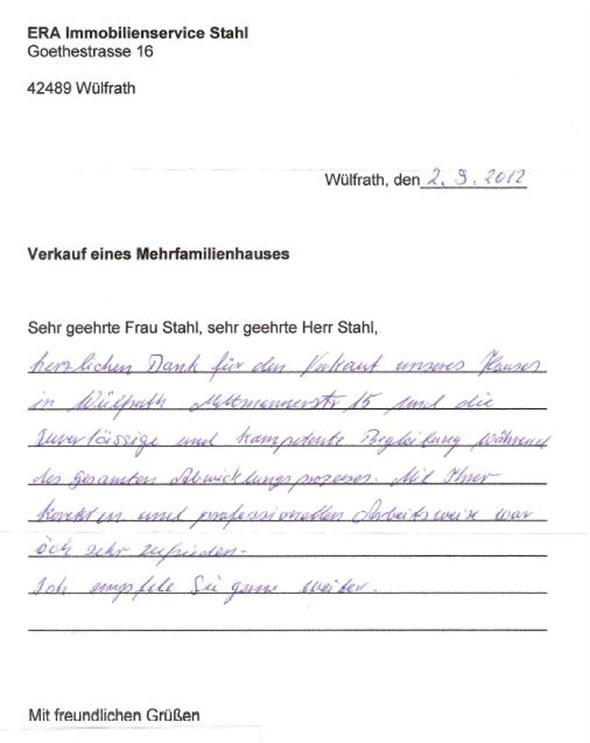 Empfehlung: kompetent und professionell - Immobilienmakler ...